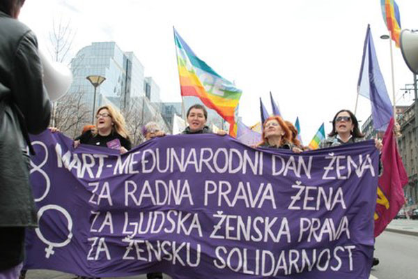 In Serbia, standing up for women's rights is becoming increasingly dangerous. Photo: Biljana Rakocevich / Women in Black