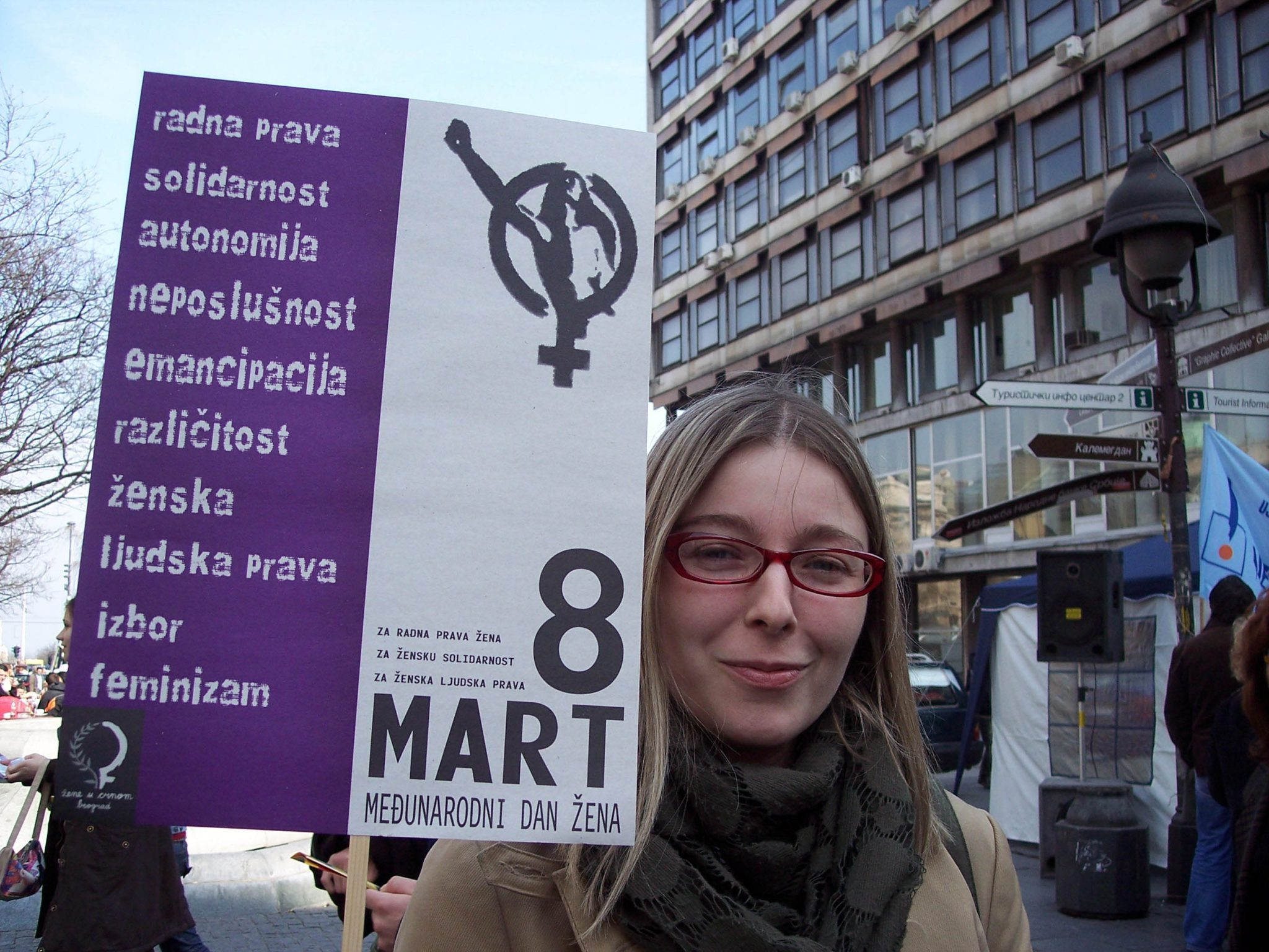 """By being highly visible, we dismantle traditional gender roles. That drives conservatives and fascists crazy,"" says Mirjana Mirosavljevic Bobic, head of the Reconstruction Women's Fund, a Serbian organisation that supports women's organisations across the country. Photo: Kvinna till Kvinna"