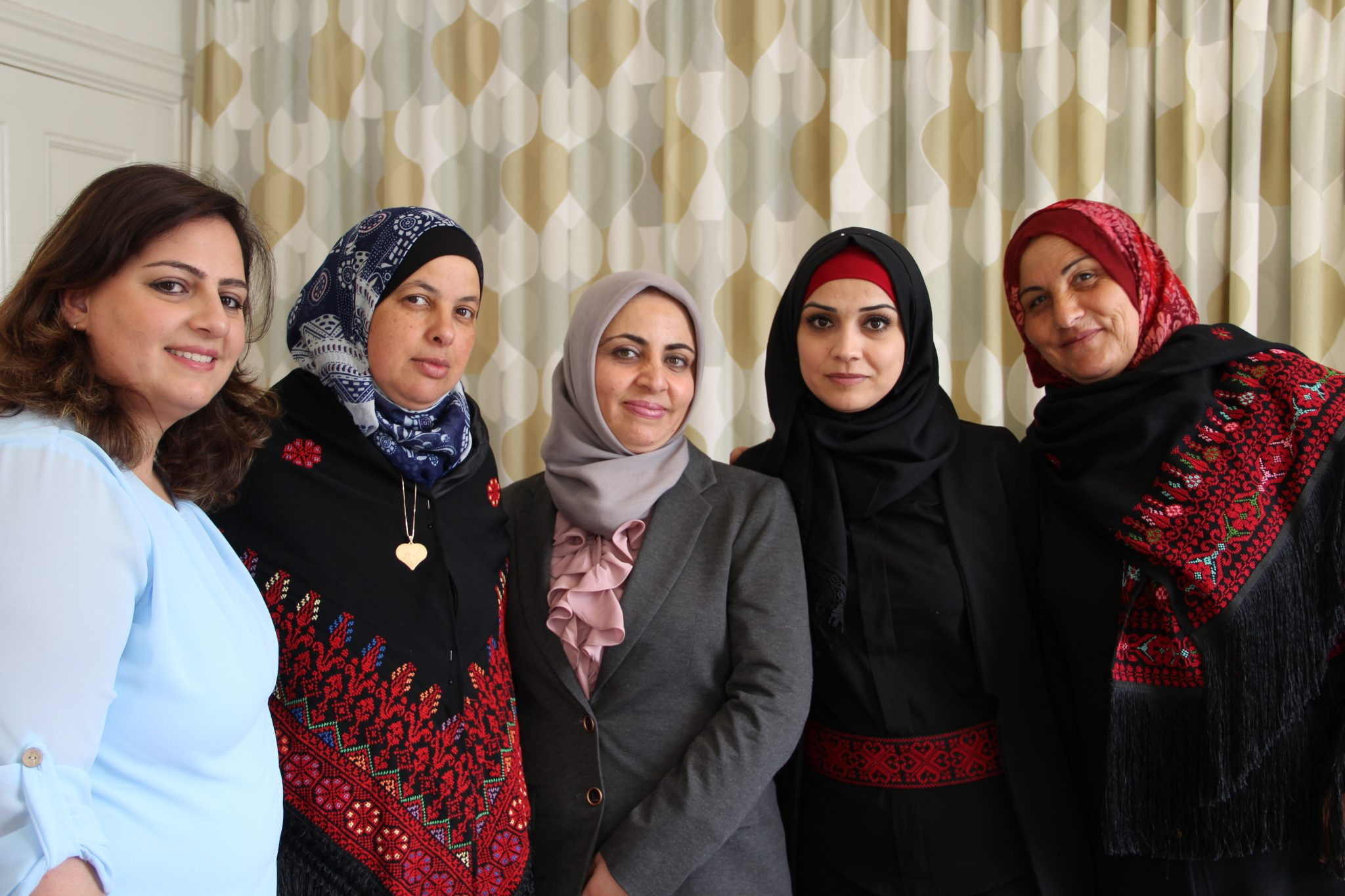 """Participants of the """"Bereaved to Bereaved"""" programme, run by our Palestinian partner organisations Women's Studies Centre and Women's Affairs Centre. Photo: Anna-Carin Hall / Kvinna till Kvinna"""