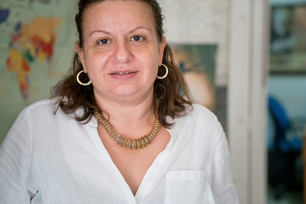 Lina Abou-Habib, co-founder and Chair of the Board for The collective for research and training on development-action (CRTD.A). Photo: Christopher Herwig